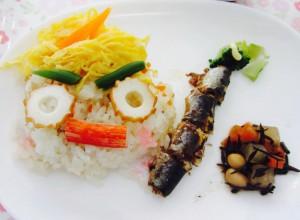 鬼のちらし寿司